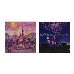 Pair of Imagineer Hong Kong Disneyland Books.