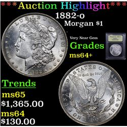 ***Auction Highlight*** 1882-o Morgan Dollar $1 Graded Choice+ Unc By USCG (fc)