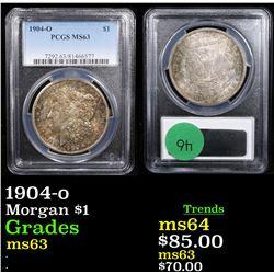 PCGS 1904-o Morgan Dollar $1 Graded ms63 By PCGS