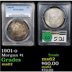 PCGS 1901-o Morgan Dollar $1 Graded ms62 By PCGS