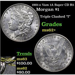 1901-o Vam 1A Super CD R5 Morgan Dollar $1 Grades Select Unc