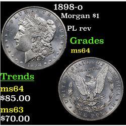 1898-o Morgan Dollar $1 Grades Choice Unc