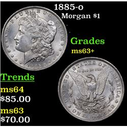 1885-o Morgan Dollar $1 Grades Select+ Unc