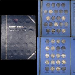 Starter Buffalo Nickel Book 1921-1937 21 Coins Grades