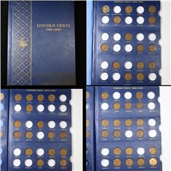 Partial Lincoln Cent Book 1909-1940 49 Coins Grades