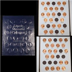 Near Complete Lincoln Cent Book 1959-1983 41 Coins Grades