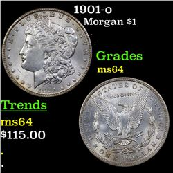 1901-o Morgan Dollar $1 Grades Choice Unc