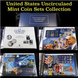 U.S. Uncirculated Coin Mint Sets Collection 1965-2008 Postal Commem Society Set Incomplete