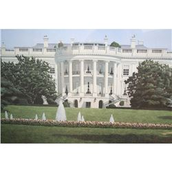 Signed & Numbered Limited Edition James Cromartie Print, The White House