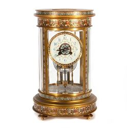 Late 19th-/early 20th-century French mantle clock
