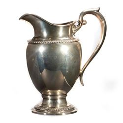 Gorham sterling silver water jug