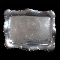 Shreve & Co. sterling silver tray