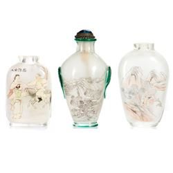 Chinese painted snuff bottles