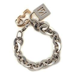 Golden Bear silver & gold bracelet with Tiffany lock