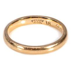 Tiffany & Co. 18k gold wedding band