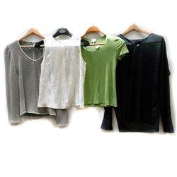 Four Giorgio Armani shirts