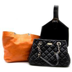 Three designer leather bags