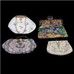 Beaded evening purses