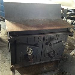FISHER CAST WOOD STOVE