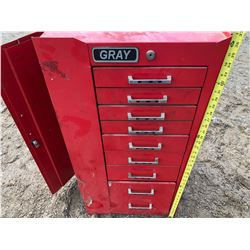 GRAY 3' TOOL CHEST