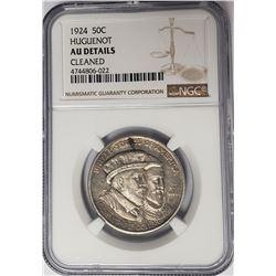 1924 50C Huguenot Commemorative Half Dollar