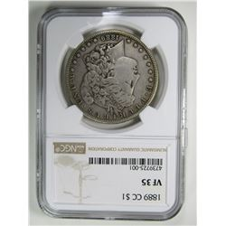 1889-CC MORGAN DOLLAR NGC VF35