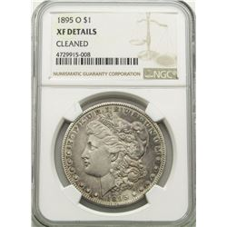 1895-O MORGAN DOLLAR NGC XF