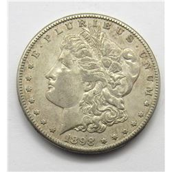 1898-S MORGAN DOLLAR XF/AU