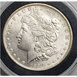 1884-O MORGAN DOLLAR