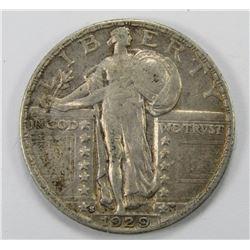 1929-S STANDING LIBERTY QTR