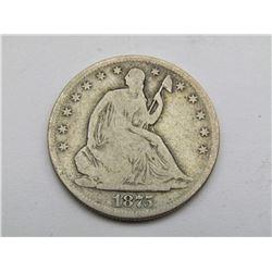1875-S SEATED HALF DOLLAR