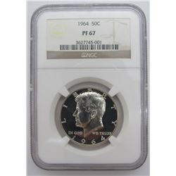 1964 KENNEDY HALF DOLLAR NGC