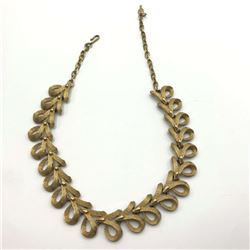 SARAH COVENTRY GOLD TONE NECKLACE