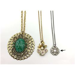 3 NECKLACES BEAUTIFUL!!