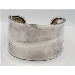925 SILVER  THICK CUFF BRACELET