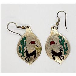 ALPACA MEXICO STERLING EARRINGS