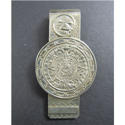 MEXICO STERLING AZTEC MONEY CLIP