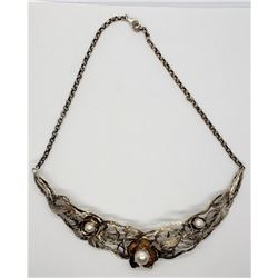 VITNAGE HANDMADE STERLING NECKLACE WITH