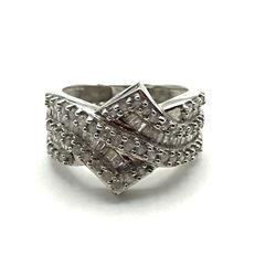 10K DIAMOND RING SIZE 7 DIAMONDS!!!!