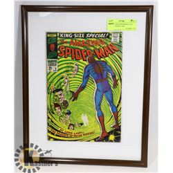 THE AMAZING SPIDERMAN #5 IN WALL HANGING CASE