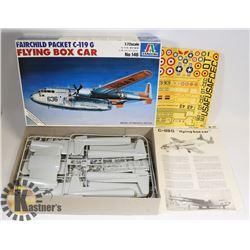 FAIRCHILD PACKET C-199G FLYING BOX CAR MODEL KIT