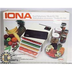 IONA  FOOD DEHYDRATOR MODEL ED-700