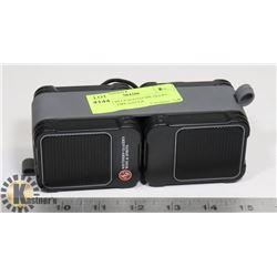 SET OF 2 BLUETOOTH SPEAKERS , DIGITAL TIRE GAUGE