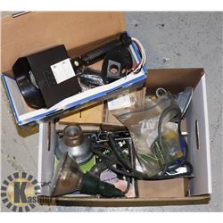 BOX CONTAINING ASSORTED INFRARED SENSOR LIGHTS