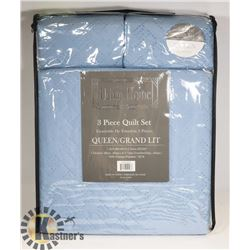 NEW URBAN HOME 3PC QUEEN SIZE QUILT SET