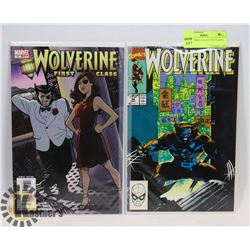 2 WOLVERINE COLLECTOR COMICS #17, 24
