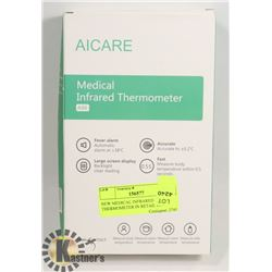 NEW MEDICAL INFRARED THERMOMETER IN RETAIL BOX