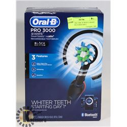 ORAL B PRO 3000 3D WHITE SMART SERIES RECHARGEABLE