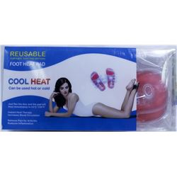 PAIR OF NEW COOL HEAT FOOT HOT / COLD PADS - JUST