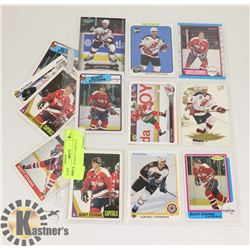 SCOTT STEVENS 17 CARD LOT